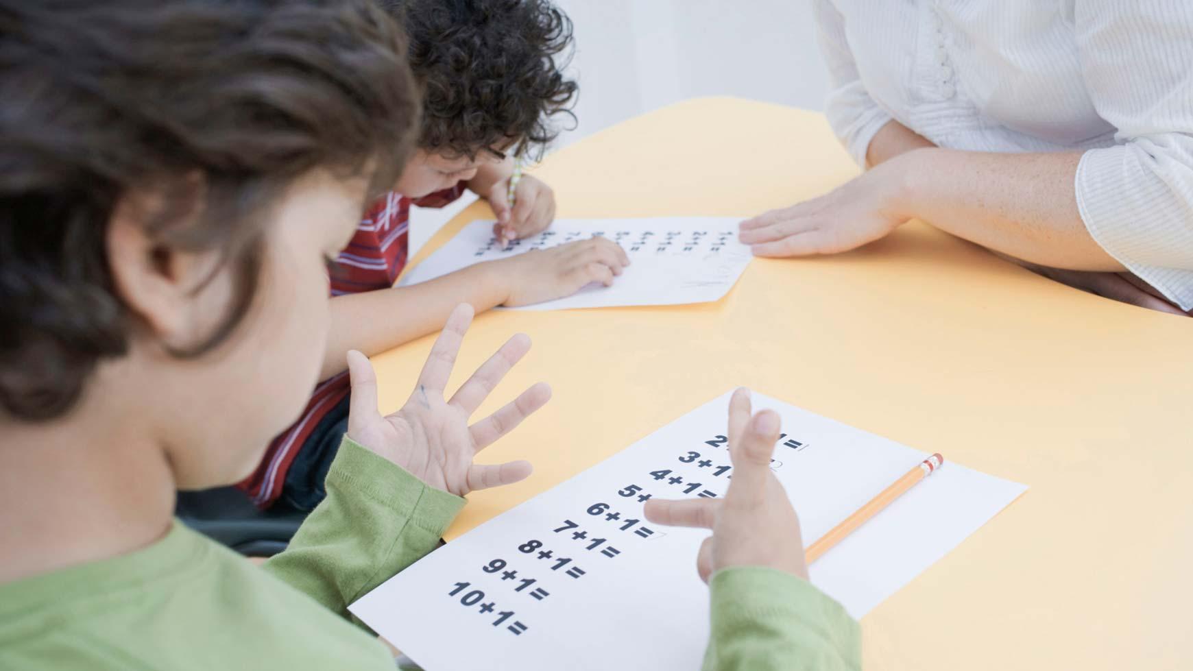 il senso del numero nei bambini