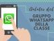 REGOLAMENTO DEL GRUPPO WHATSAPP DI CLASSE
