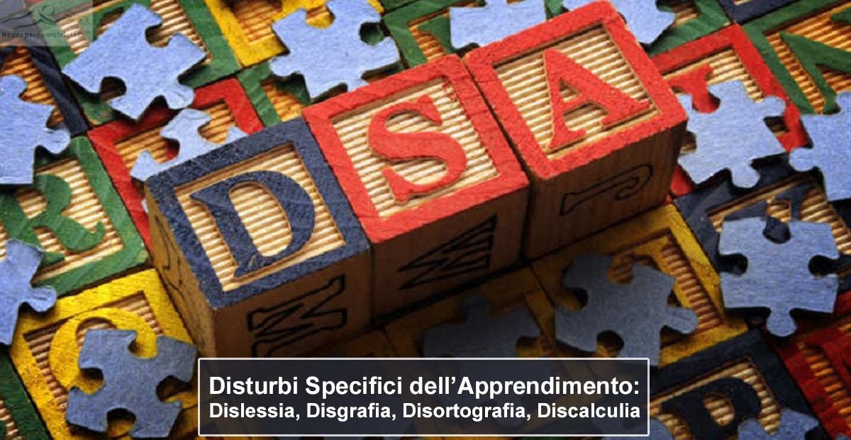 I PRINCIPALI DISTURBI SPECIFICI DELL'APPRENDIMENTO